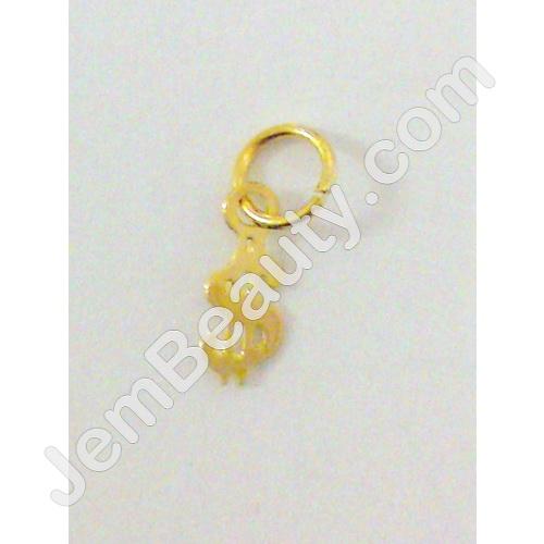 Jem Beauty Supply Fuji 3799 Nail Ring Gold Dollar Sign Nail Art