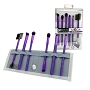 Moda Beautiful Eyes Purple 7 pc Set