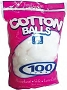 Family Care Jumbo Cotton 100pk