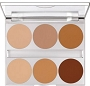 Dual Finish 6 Colors Contouring Palette