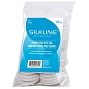 Silkline Round Pads with Tab 60/Bag