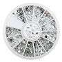 Rhinestones Silver Shapes Wheel