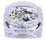 Nail Art Hexagon Sequins Silver 2 g