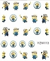 Nail Water Decal Minions 1 Sheet