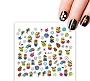 Nail Water Decal Minions 341 1 Sheet