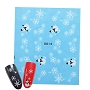 Nail Water Decal Snowman Flakes 1 Sheet