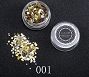 Nail Sequins Mix 01 Gold Silver 1.5 g
