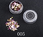 Nail Sequins Multi 05 Purple 1.5 g