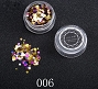Nail Sequins Multi 06 Gold Dark 1.5 g