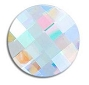 Swarovski Chessboard Circle AB 10/Pack