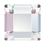 Swarovski Square AB 6mm 18/Pack