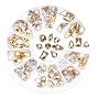 Rhinestone Slv Gold Assort Wheel