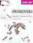 Swarovski Mixed Raindrop Blush 51 pcs/Bag