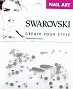 Swarovski Mixed Raindrop AB 51 pcs/Bag