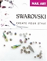Swarovski Mixed Raindrop Lumin 51 pcs/Bag
