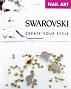 Swarovski Mixed Pear Aurum 52 pcs/Bag