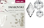 Swarovski Mixed Diamond Crystal 56 pcs/Pack