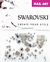 Swarovski Mixed Square Crystal 63 pcs/Bag
