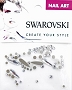 Swarovski Mixed Raindrop 53 pcs/Bag