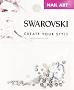 Swarovski Mixed Pear L Chrome 52 pcs/Bag