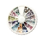 Rhinestone Shapes Multi-color Wheel