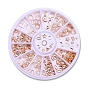 Metal Shapes Rose Gold 2 Wheel