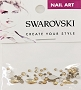 Swarovski Mixed Flame Golden 52 pcs/Bag