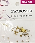 Swarovski Mixed Raindrop Aurum 51 pcs/Bag