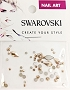 Swarovski Mixed Flame Rose Gold 52 pcs/Bag