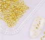 Metal Rivets Petal Gold Pack