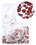 Rhinestones Multi Sz Red 1000/Pack