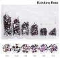 Rhinestones Multi Sz Rainbow 1700/Pack