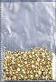 Rhinestones Multi Sz Gold AB 1440/Bag