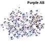 Rhinestones Multi Sz Purple AB 1440/Bag