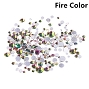 Rhinestones Multi Sz Fire 1440/Bag