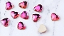 Gem Stone Heart Rose 10/Pack