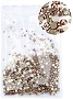Rhinestones Multi Sz Rose Gold 1000/Pack