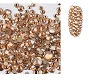 Rhinestones Multi Sz Peach 04 1440/Pack