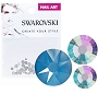 Swarovski Mixed Electric Blue 70/Pack