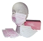 Sure Fit Earloop Face Mask PNK 50/Box