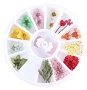 Nail Art Dried Flowers Mix 10 Wheel