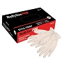 BaBylissPro Glove Vinyl White Small