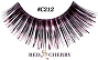 Red Cherry Lashes C 212
