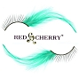 Red Cherry Lashes Green