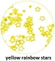 Art Club Rainbow Stars Yellow