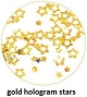 Art Club Hologram Stars Gold