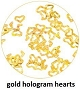 Art Club Hologram Hearts Gold