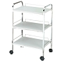 Trolley 3 Shelf White 2703