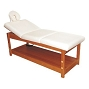 Bed Massage Wooden White