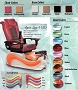 Spa Chair Aqua 9 LED